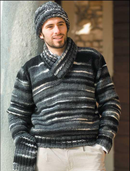 grande collezione grande vendita godere del prezzo più basso Spiegazione per realizzare: pull uomo collo a scialle ...